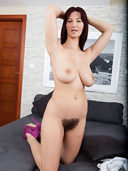Here Amateur natural hairy vagina vanessa j nude