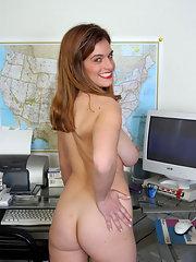 Busty mature secretaries